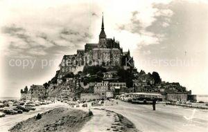 AK / Ansichtskarte Mont Saint Michel Vue generale Mont Saint Michel