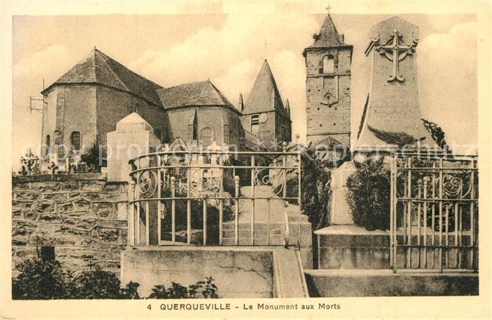 AK / Ansichtskarte Querqueville Monument aux Morts Kriegerdenkmal Querqueville