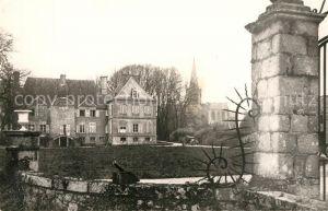 AK / Ansichtskarte Reville_Manche Chateau Eglise XVe siecle Reville_Manche