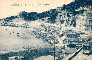 AK / Ansichtskarte Marseille_Bouches du Rhone La Corniche Anse du Prophete Marseille