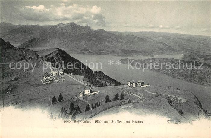 AK / Ansichtskarte Rigi_Kulm Staffel Pilatus Rigi_Kulm
