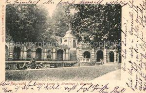 AK / Ansichtskarte Bayreuth Untere Grotte in Eremitage  Bayreuth