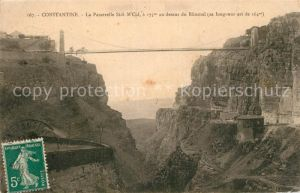 AK / Ansichtskarte Constantine_Algerien La Passerelle Sidi M Cid au dessus du Rhumel