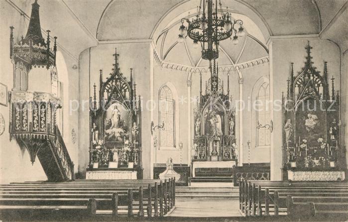 AK / Ansichtskarte Selzach Dorfkirche Selzach