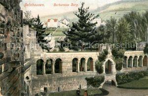 AK / Ansichtskarte Gelnhausen Barbarossa Burg Gelnhausen
