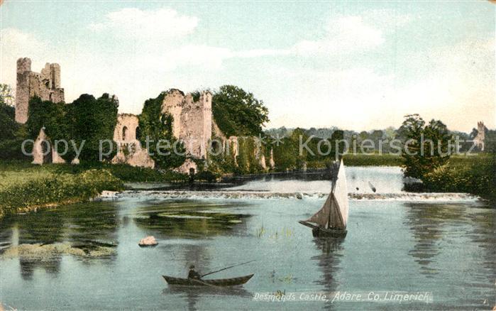 AK / Ansichtskarte Limerick_Limerick Desmonds Castle Limerick Limerick