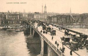 AK / Ansichtskarte London London Bridge London