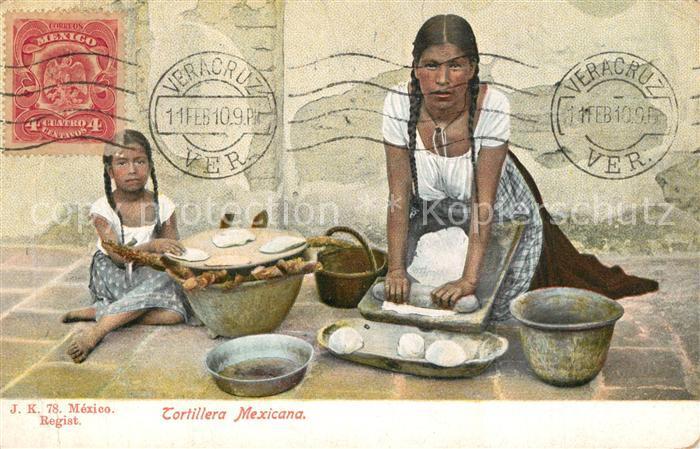 AK / Ansichtskarte Veracruz Tortillera Mexicana Veracruz