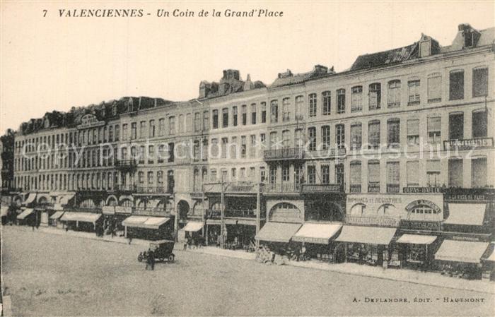 Valenciennes Un Coin de la Grand Place Valenciennes