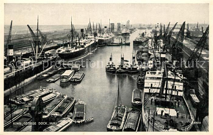 Hull_UK King George Dock Hull_UK