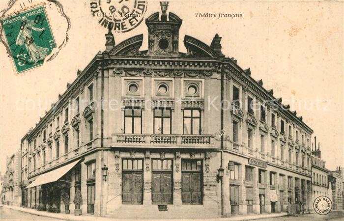 AK / Ansichtskarte Tours_Indre et Loire Theatre fancais Tours Indre et Loire