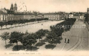 AK / Ansichtskarte Luneville La Place Leopold Luneville