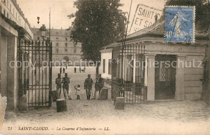 AK / Ansichtskarte Saint_Cloud Caserne d Infanterie Saint Cloud