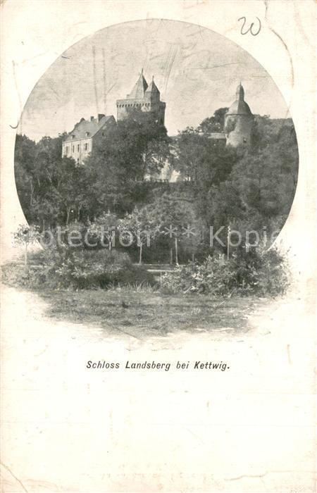 Kettwig Schloss Landsberg Kettwig