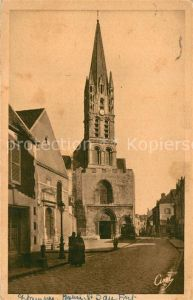 AK / Ansichtskarte Etampes Eglise Notre Dame du Fort Etampes