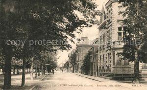 AK / Ansichtskarte Vitry le Francois Boulevard Francois Vitry le Francois