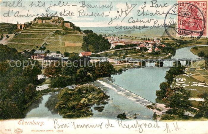 AK / Ansichtskarte Ebernburg  Ebernburg