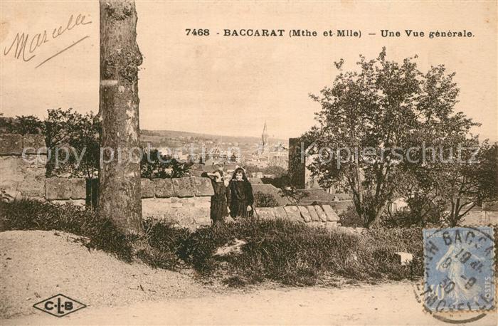 AK / Ansichtskarte Baccarat Panorama Baccarat