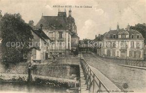 AK / Ansichtskarte Arcis sur Aube Rue de Chalons Arcis sur Aube