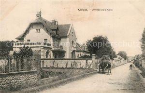 AK / Ansichtskarte Cloyes sur le Loir Avenue de la Gare Cloyes sur le Loir