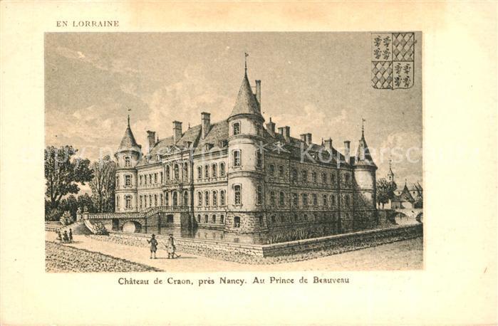AK / Ansichtskarte Craon_Mayenne Chateau Prince de Beauveau Craon Mayenne