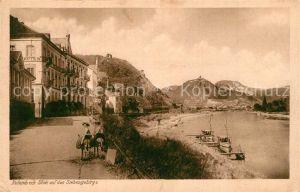 AK / Ansichtskarte Rolandseck mit Siebengebirge Rolandseck