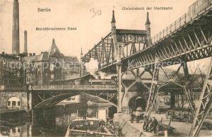 AK / Ansichtskarte Berlin Gleisdreieck der Hochbahn Berlin