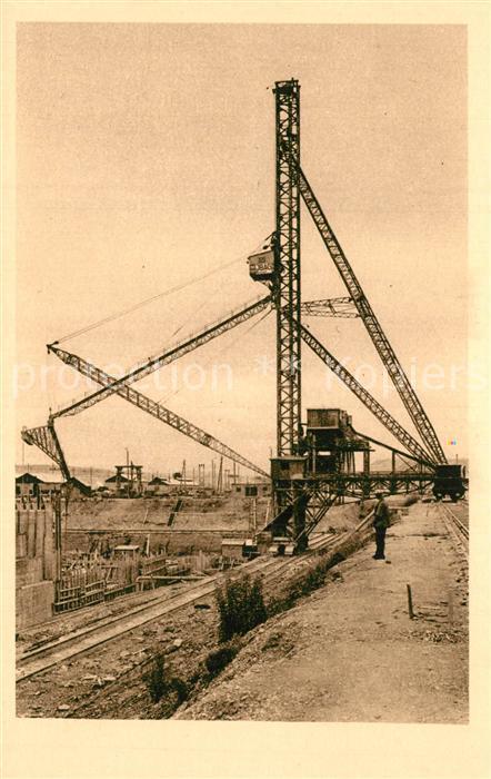 AK / Ansichtskarte Kembs_Elsass Ecluses grandes tours a betonner 1930 Kembs Elsass
