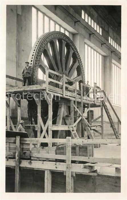 AK / Ansichtskarte Kembs_Elsass Turbine Kembs Elsass