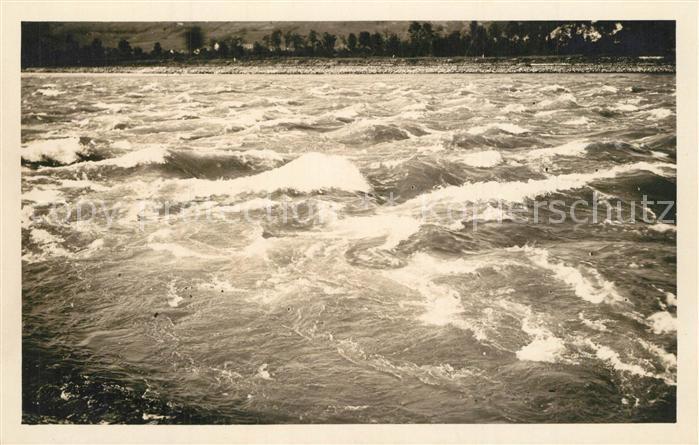 AK / Ansichtskarte Kembs_Elsass Stuermischer Rhein Kembs Elsass 0