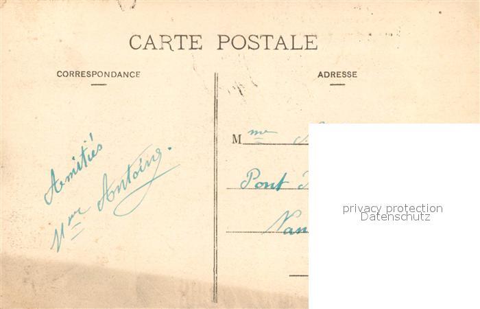 AK / Ansichtskarte Pont a Mousson Caisse d'Epargne Octroi et Poste Pont a Mousson 1