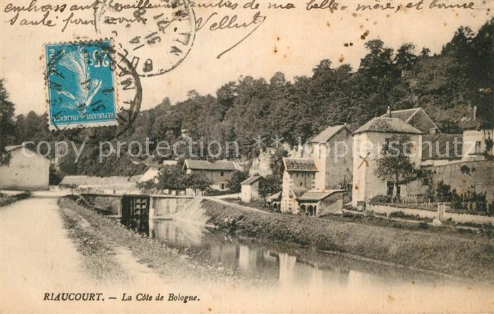 AK / Ansichtskarte Riaucourt La Cote de Bologne Riaucourt 0