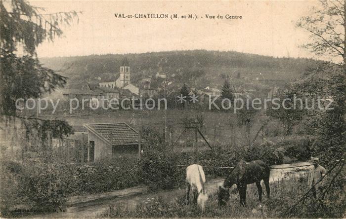 AK / Ansichtskarte Val et Chatillon Vue du Centre Val et Chatillon 0