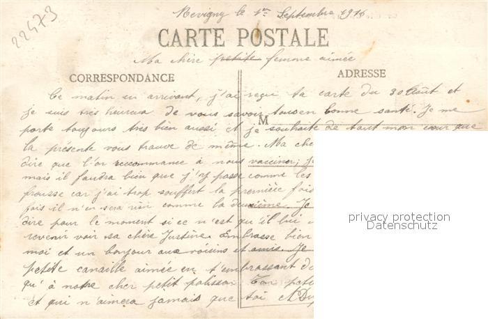 AK / Ansichtskarte Neuville sur Touques La Guerre de 1914 Rue des Groseillers Neuville sur Touques 1