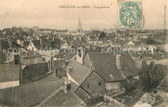AK / Ansichtskarte Chatillon sur Seine Vue generale Chatillon sur Seine
