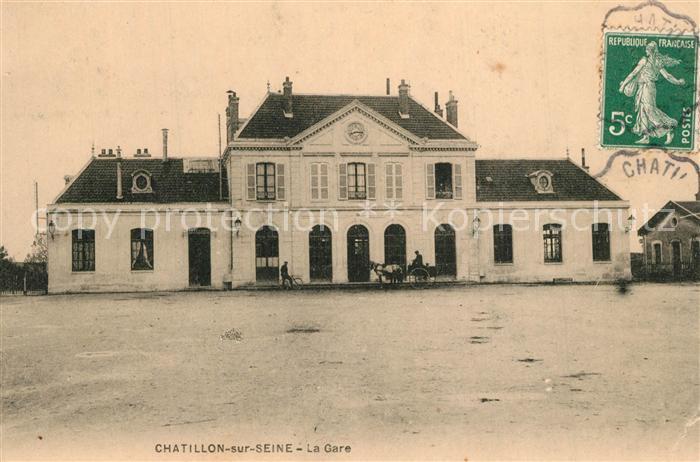 AK / Ansichtskarte Chatillon sur Seine La Gare Chatillon sur Seine