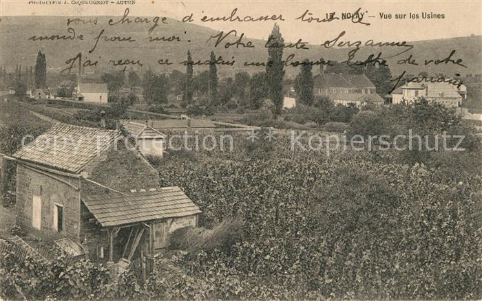 AK / Ansichtskarte Nolay_Cote d_Or_Burgund Vue sur les Usines Nolay_Cote d_Or_Burgund 0