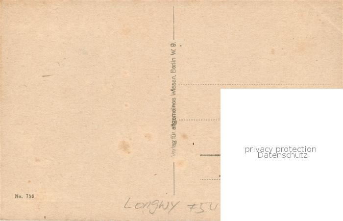 AK / Ansichtskarte Longwy_Lothringen Festung zerstoert Longwy Lothringen 1