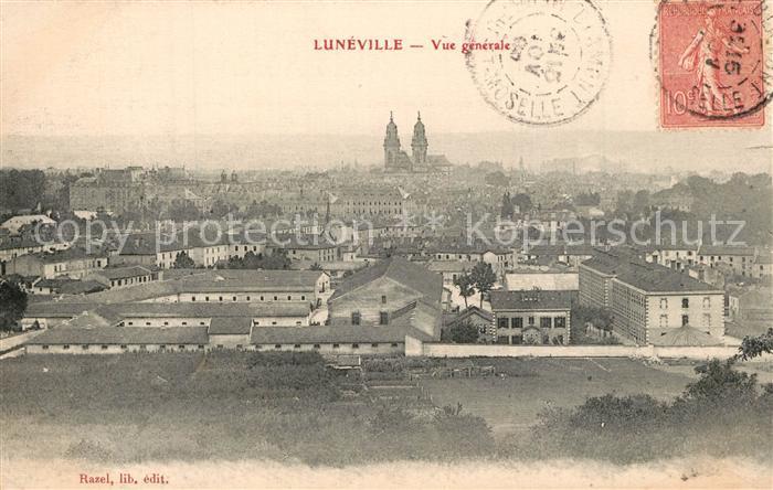 AK / Ansichtskarte Luneville Vue generale Luneville 0
