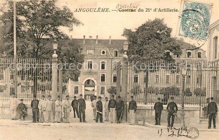 AK / Ansichtskarte Angouleme Caserne du 21e d Artillerie Angouleme 0