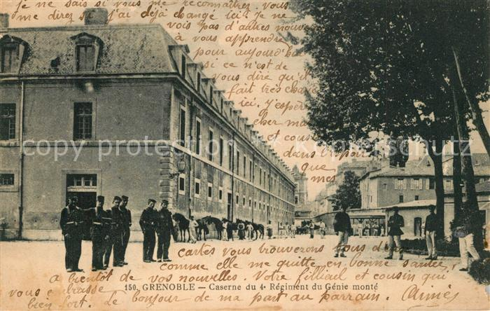 AK / Ansichtskarte Grenoble Caserne du 4e Regiment du Genie monte Grenoble 0