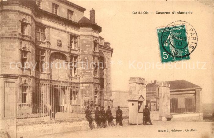 AK / Ansichtskarte Gaillon Caserne d Infanterie Gaillon