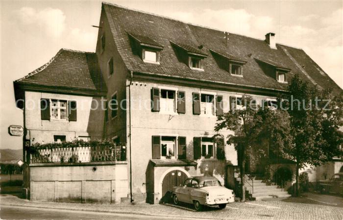 AK / Ansichtskarte Freiburg_Breisgau Gasthof zur Linde Freiburg Breisgau 0
