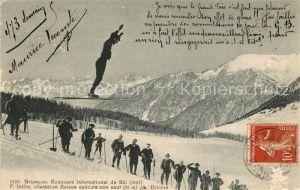 AK / Ansichtskarte Briancon Concours International de Ski Briancon