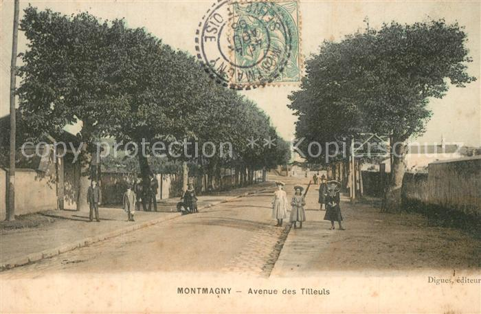 AK / Ansichtskarte Montmagny_Val d_Oise Avenue des Tilleuls Montmagny_Val d_Oise 0