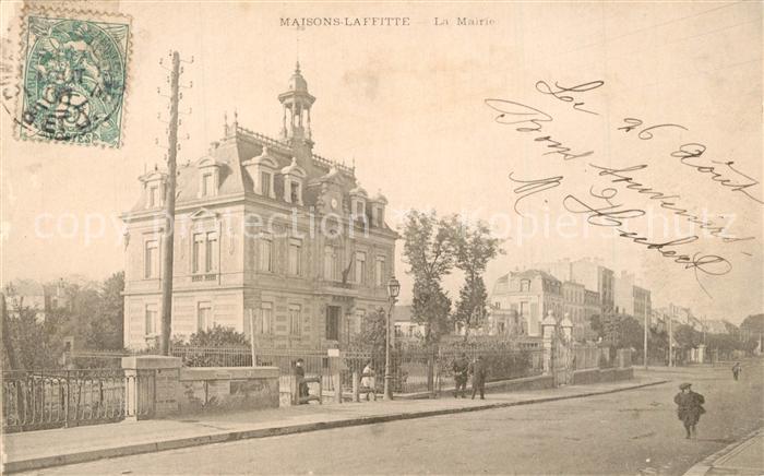 AK / Ansichtskarte Maisons Laffitte La Mairie Maisons Laffitte 0