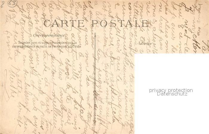 AK / Ansichtskarte Bourg Lastic La Place et l Eglise Bourg Lastic 1