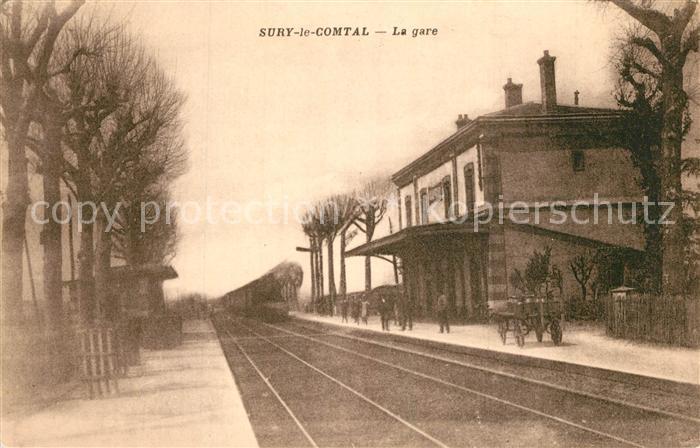 AK / Ansichtskarte Sury le Comtal La gare Sury le Comtal 0