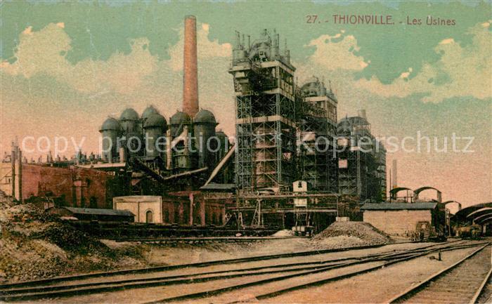AK / Ansichtskarte Thionville Les Usines Thionville