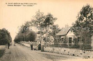 AK / Ansichtskarte Saint Brevin les Pins Avenue Mondain Ker Annette Saint Brevin les Pins